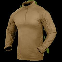 """CONDOR - taktiniai marškinėliai """"Combat Shirt"""" TAN"""
