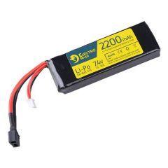 LiPo 7,4V 2200mAh 20/40C T-plug