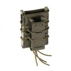 "TEMPLARS GEAR- Atviras krepšelis pistoleto ir M4/M16/AK dėtuvėms ""Rifle and Pistol Magazine Pouch"" Ranger Green"