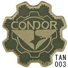 """CONDOR - antsiuvas """"Condor Gear Patch"""" TAN"""
