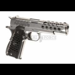 WE - M1911 Hex Cut Full Metal GBB