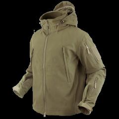 "CONDOR - striukė ""SUMMIT soft shell jacket"" TAN"