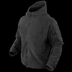 "CONDOR - džemperis ""Sierra hooded fleece jacket"" Black"