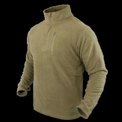 """CONDOR - džemperis """"Zip fleece pullover"""" Tan"""
