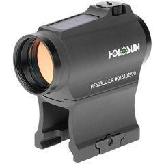 HOLOSUN -  HE503CU-GR Elite Solar Green Circle Dot Sight