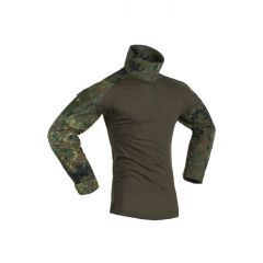 """INVADER GEAR - Taktiniai marškinėliai """"COMBAT SHIRT"""" Flecktarn"""