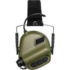 "EARMOR - Aktyvios ausinės ""M31 Tactical  MOD3"" Green"