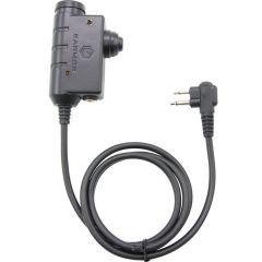 EARMOR - PTT jungtis MOTOROLA 2 pin