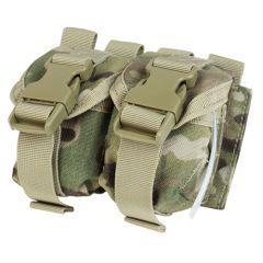 CONDOR - Dvigubas granatų krepšelis Multicam