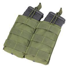CONDOR - dvigubas atviro tipo krepšelis M4/M16 dėtuvėms OD