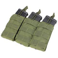 CONDOR - trigubas atviro tipo krepšelis M4/M16 dėtuvėms OD