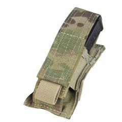 CONDOR - viengubas pistoleto dėtuvių krepšelis MULTICAM