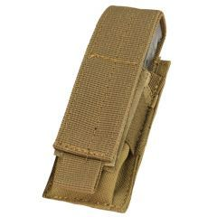 CONDOR - viengubas pistoleto dėtuvių krepšelis Coyote