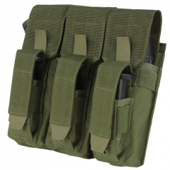 CONDOR - trigubas uždaro tipo krepšelis AK dėtuvėms + pistoleto