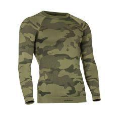 Tervel - termo marškinėliai ilgom rankovėm LVL1 military/grey camo