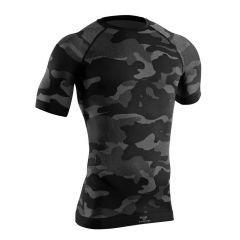 Tervel - marškinėliai LVL 1 short black/grey camo