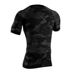 """Tervel - marškinėliai LVL1 LIGHT black/grey camo"""""""