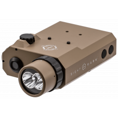 Sighmark LoPro Combo Flashlight VIS/IR and Green Laser Dark Earth