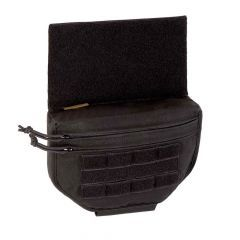 Warrior - Drop Down Velcro Utility Pouch Black